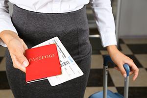 приезд в США, интервью в аэропорту США, прилет в америку